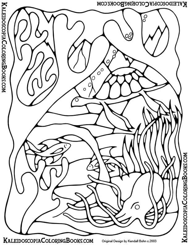 Free Coloring Page: Undersea Adventure - Undersea Adventure Series ...