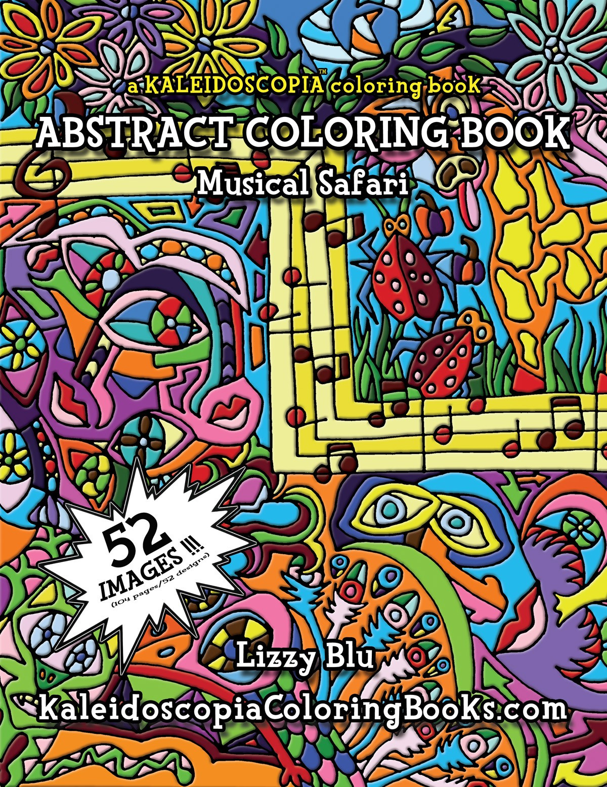 Musical Safari: An Abstract Coloring Book