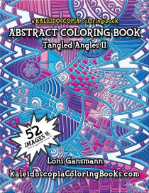 Tangled Angles 2: An Abstract Coloring Book