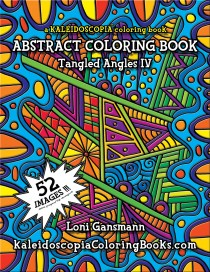 Tangled Angles 4: An Abstract Coloring Book
