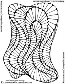 Free Coloring Page: Abstract Adventure I