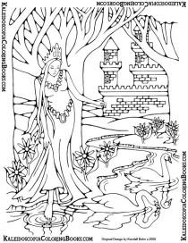 Free Coloring Page: Fantasy Adventure