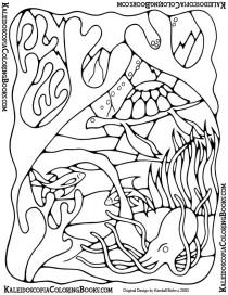 Free Coloring Page: Undersea Adventure