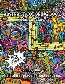 Musical Safari: An Abstract Coloring Book