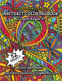 Tangled Angles 3: An Abstract Coloring Book