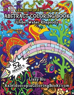 Underwater Rhapsody: An Abstract Coloring Book